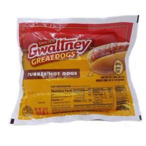 Gwaltney Salchichas de Pavo carne el salvador diaco