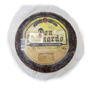 Don Bernardo Manchego Oro Viejo queso el salvador
