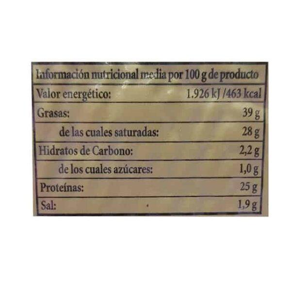 Don Bernardo Manchego Oro Viejo quesos el salvador diaco
