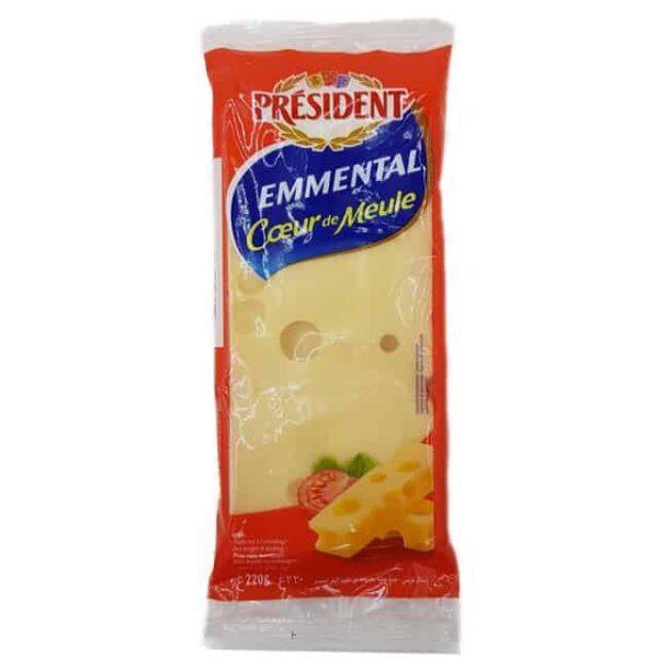 President Emmental Coeur Suizo queso lacteo diaco el salvador