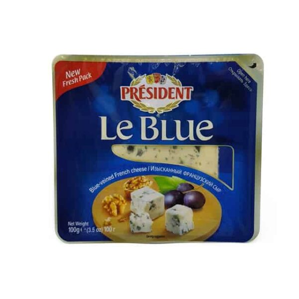 President Le Blue Queso Azul diaco el salvador lacteo