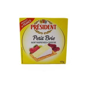 President Lata de Queso Brie diaco el salvador