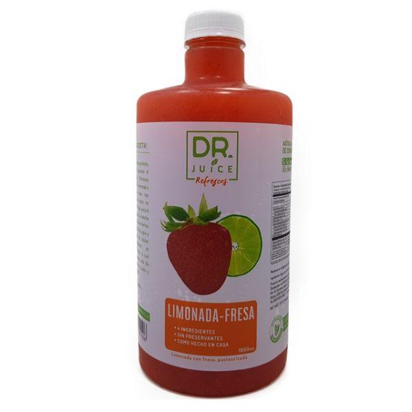 Dr. Juice Limonada Fresa Bebida natural Jugo Diaco El Salvador
