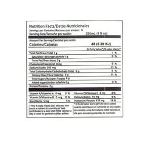 Dr. Juice Agua de Coco jugo natural datos nutricionales bebidas el salvador