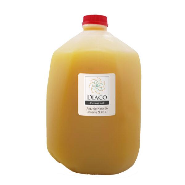 Jugo Naranja Fruta Reserva Premium Natural Diaco El Salvador Bebida
