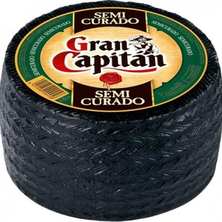 Queso Manchego Semicurado Gran Capitán Gourmet Premium Diaco El Salvador
