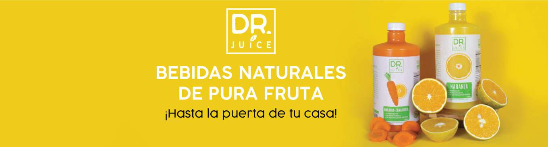Banner Dr Juice Jugos Bebidas Naturales Diaco EL Salvador